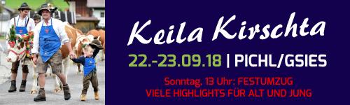 Keilerkirschta 2018 in Schafabtrieb und Almabtrieb in Südtirol