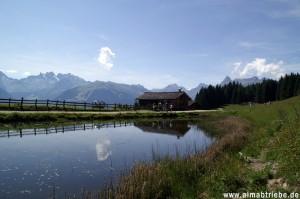 Bergsee Montafon