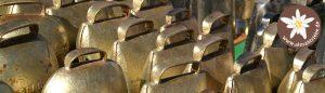 Glocken bei der Alpfahrt in Schattwald